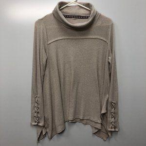 ✅ Knox Rose Cowl turtleneck tunic sweater M